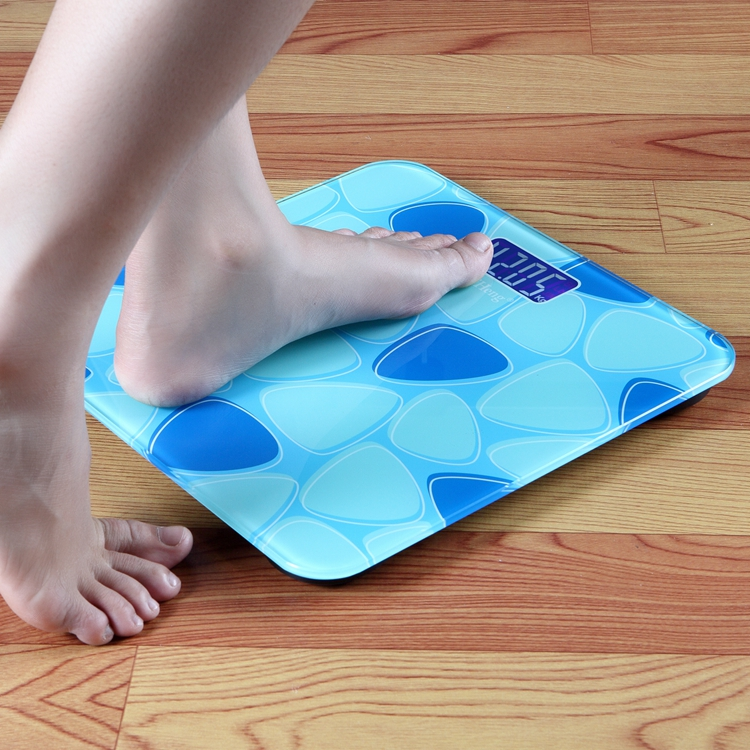 New Arrive Blue Household Floor Scale Electronic Digital ...