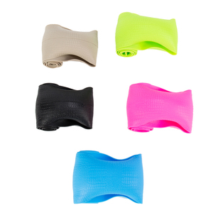 Image 3 - HuiER High Quality Food Grade Silicone Auto Steering Wheel Cover Anti slip for 36 40CM Car Styling Steering Wheel Free Shipping