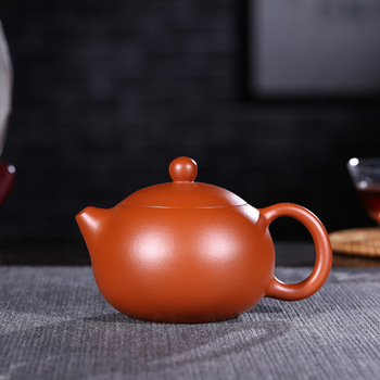 purple clay pot genuine hand-made small capacity spherical orifice raw ore Zhuni Kageshi pot Kungfu Teapot Tea Set