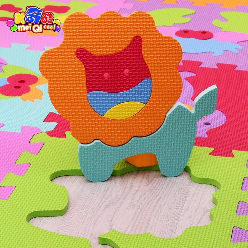 Wonderful 9 Pçs/set Do Jogo Do Bebê Tapete Crianças EVA Foam Mat Crianças Chão Jogos