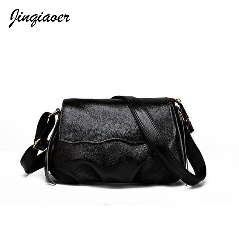 Hot Sale Women' Bags Small For Women Messenger Bag Ladies Genuine Leather Shoulder Bag Solid Luxury Cross-body Bag a3262 mlhj fashion female genuine leather small shoulder bag women clutch bag luxury women messenger cross body crossbody bag woman