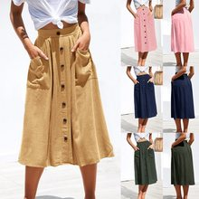 dbb842450 Color Denim Skirts - Compra lotes baratos de Color Denim Skirts de ...
