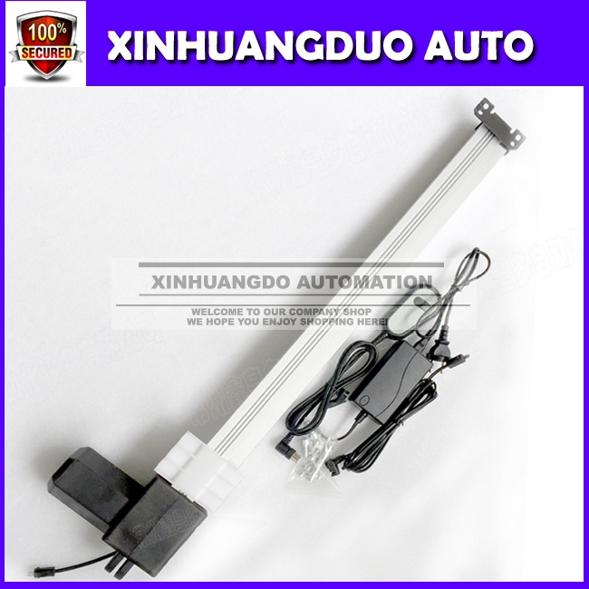 24 inch 600mm stroke DC 12V/24V 20mm/s Heavy Duty Push 150Kg , Motorized Tv Lift Linear Actuator with Wired handle control24 inch 600mm stroke DC 12V/24V 20mm/s Heavy Duty Push 150Kg , Motorized Tv Lift Linear Actuator with Wired handle control