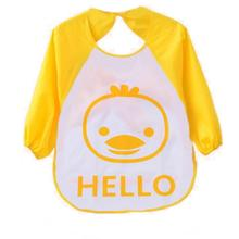 Plastic Bibs for Children Unisex Cartoon Animals Waterproof Silicone Infant bibs Translucent Soft Baby Cloth pano de boca baby
