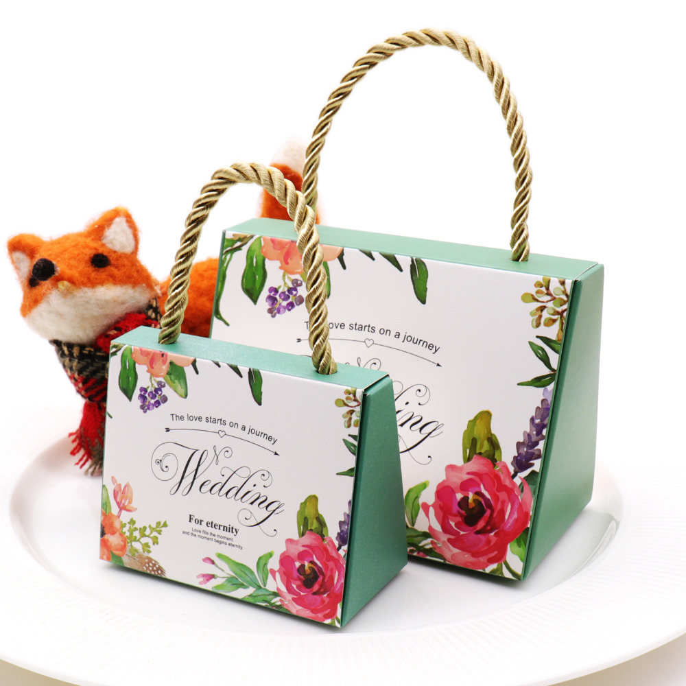 50pcs Butterfly Flower romantic Candy Box Wedding favors Portable Gift Box Party Favor Boxes Beautiful Gift Wedding Party Favor