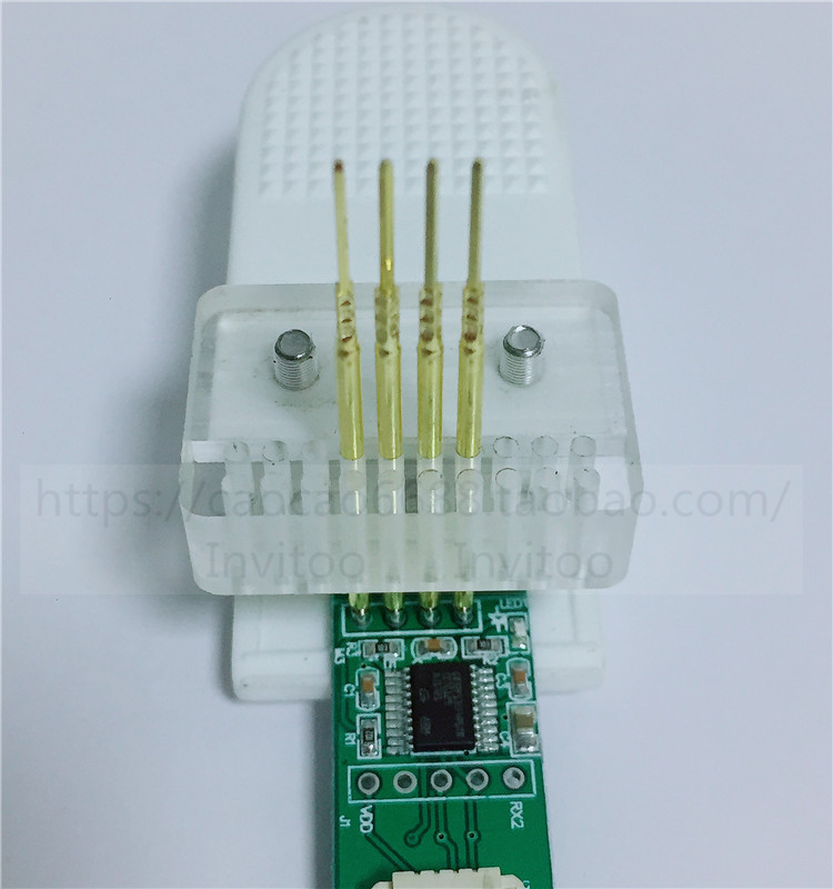 PCB Test Rack Clamp Fixture Spacing 2.54 Probe Download Program Burning Single And Double Rows