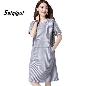 a6bab11d4 Casual Plus tamaño vestido de las mujeres vestido de verano bohemio ...