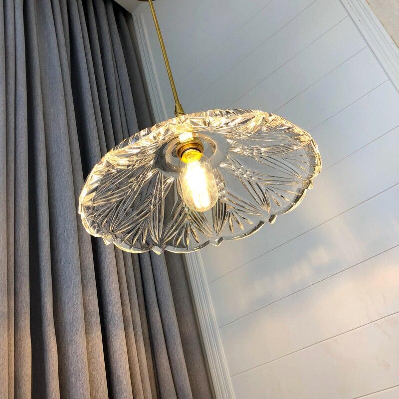 US $76.56 13% OFF|1 pcs Glass Kitchen lighting E27 Loft Vintage Antique  Glass shade Pendant Lights Fixtures for Restaurant Cafe Bar Hanging  Lamps-in ...