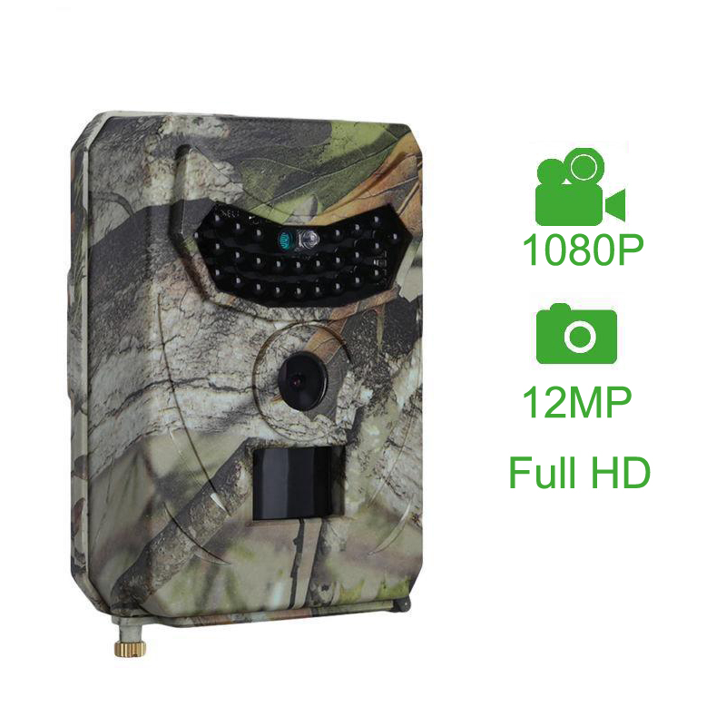 2019 nouvelle caméra de Chasse GSM 12MP 1080 P Photo pièges Vision nocturne faune infrarouge Chasse Trail caméras Chasse scout