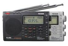 TECSUN PL 660 רדיו PLL SSB VHF אוויר להקת רדיו מקלט FM/MW/SW/LW רדיו Multiband כפולה המרה TECSUN PL660
