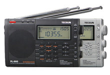 TECSUN PL 660 Radio PLL SSB VHF AIR Band Radio Receiver FM/MW/SW/LW Radio Multiband Dual Conversion TECSUN PL660