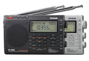 TECSUN PL-660 Radio PLL SSB VHF AIR Band Radio Receiver FM/MW/SW/LW Radio Multiband Dual Conversion TECSUN PL660(China)