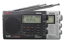 TECSUN receptor de Radio PL 660, banda de aire, CLL SSB VHF, FM/MW/SW/LW, conversión Dual, TECSUN PL660