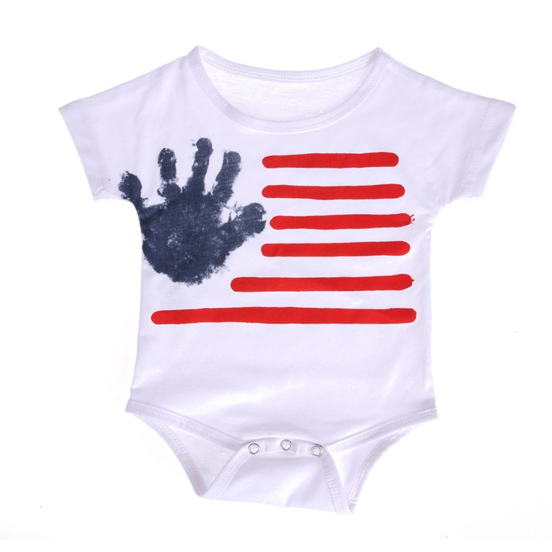 Newborn Baby Boys Jumpsuits Sleeveless Romper Floral Infant Cloth Cute Button Backless Outfits 0-12 Months New Arrival
