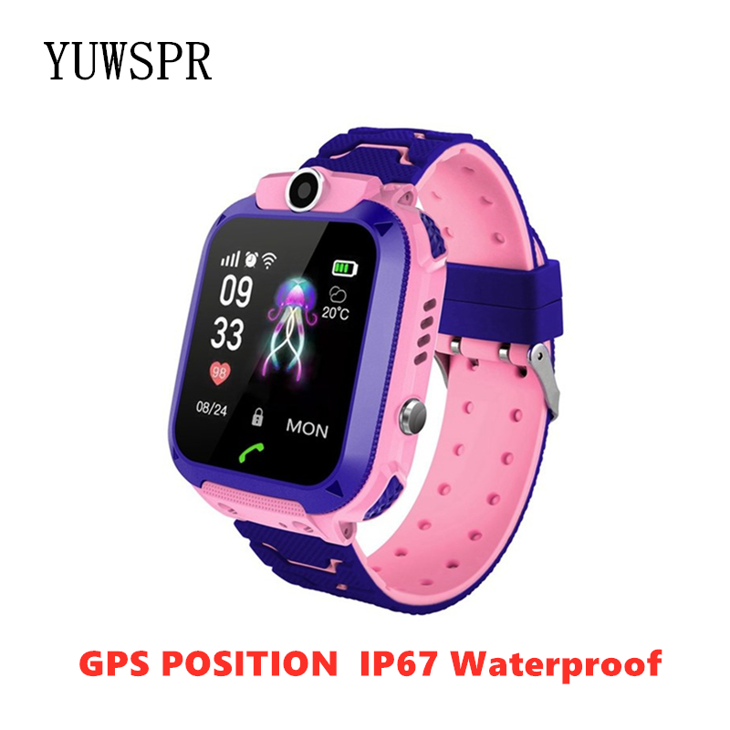 Watch Tracker Children Birthday-Giftq12 Digital Waterproof Android 1PCS Camera IOS Multifunction