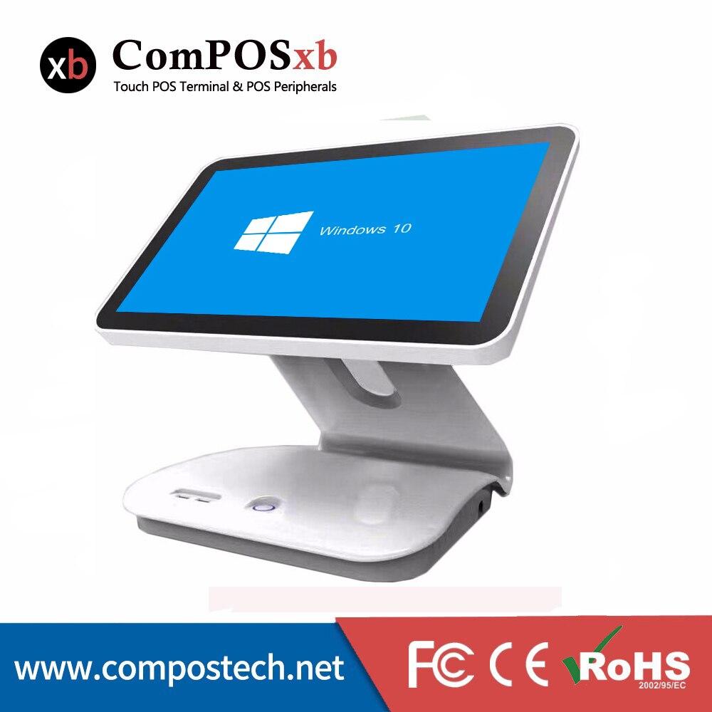 Дешевые 15. 6 дюймов 10 Точка емкостный Сенсорный экран все в одном POS Системы ресторан/кассир POS машины