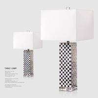 Fashion Mediterranean Shell Table Lamp Luxury High Quality Shell Table Lamp For Bedroom Hotel Lobby Table Lamp De Mesa Lamparas