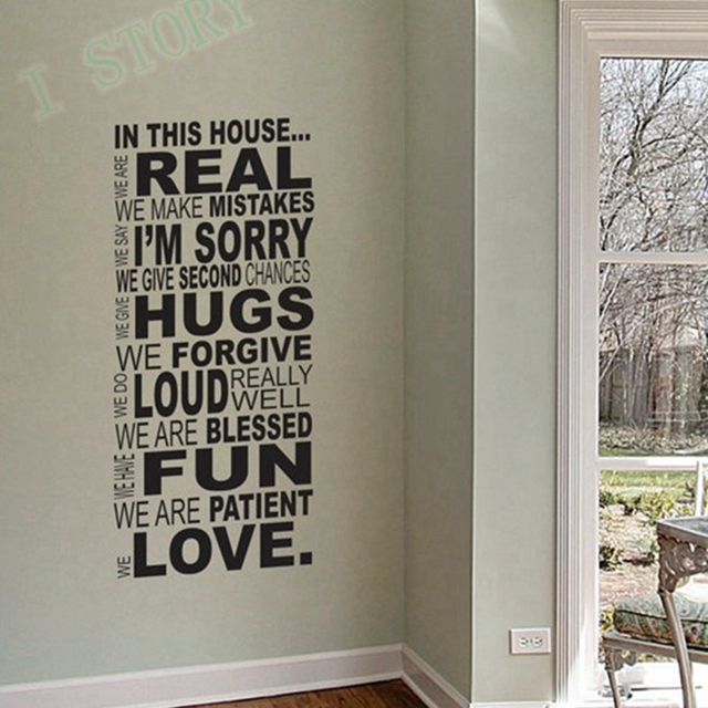 Charming Ebay Hot Selling Free Shipping Family Wall Quotes  Part 10