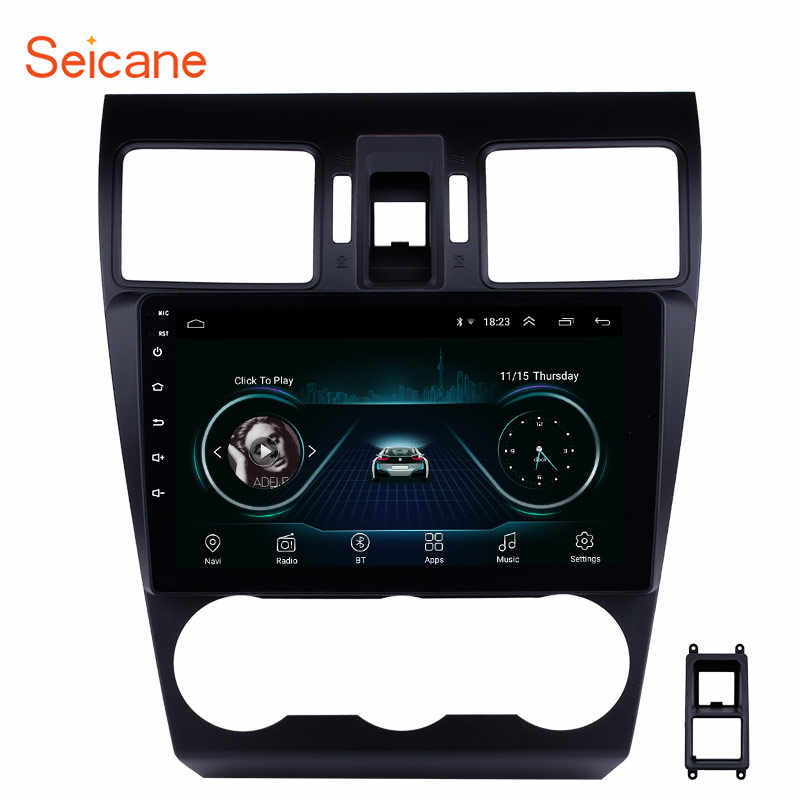 Seicane 9 Inch Android 8.1 Car GPS Bluetooth Radio For Subaru XR Forester Impreza 2013 2014 Navigation Unit Player Support TPMS