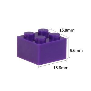 Image 4 - 2x2 Классические кирпичи, небольшие строительные блоки, креативные сборочные городские кирпичи, технические игрушки для детей, Comaptible блоки маленького размера