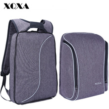 XQXA Light Slim Backpack Men Lightweight 15.6 Inch Laptop Notebook Backpacks  Women Waterproof Thin Business Anti