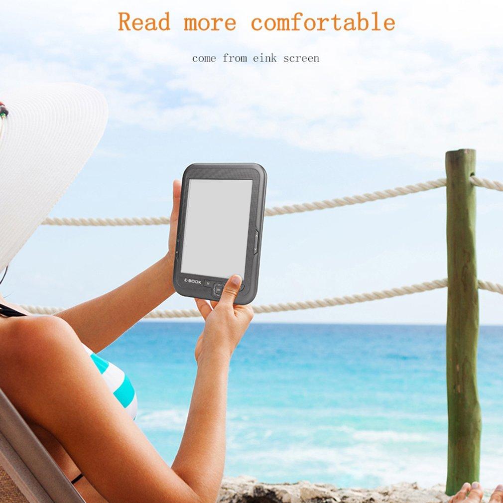 BK6006 HD 6 pouces 4G/8G/16G lecteur d'ebook Ereader lecteur de livre Comfortlight Pro - 2