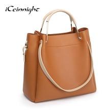 iCeinnight Luxury Handbags Women Bags Designer PU Leather Clutch Handbag Female Shoulder Bag Big Capacity Beach Bag sac a main