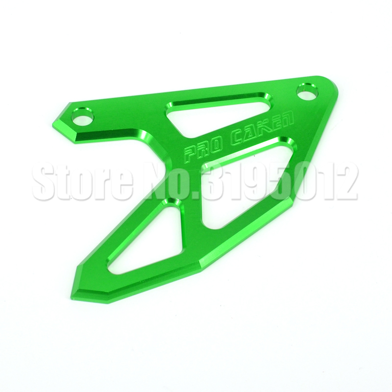 Rear Disc ROTOR Brake Guard cover Protector for kawasaki <font><b>KX125</b></font> KX250 KLX450R KX250F KX450F dirt bike <font><b>parts</b></font> image