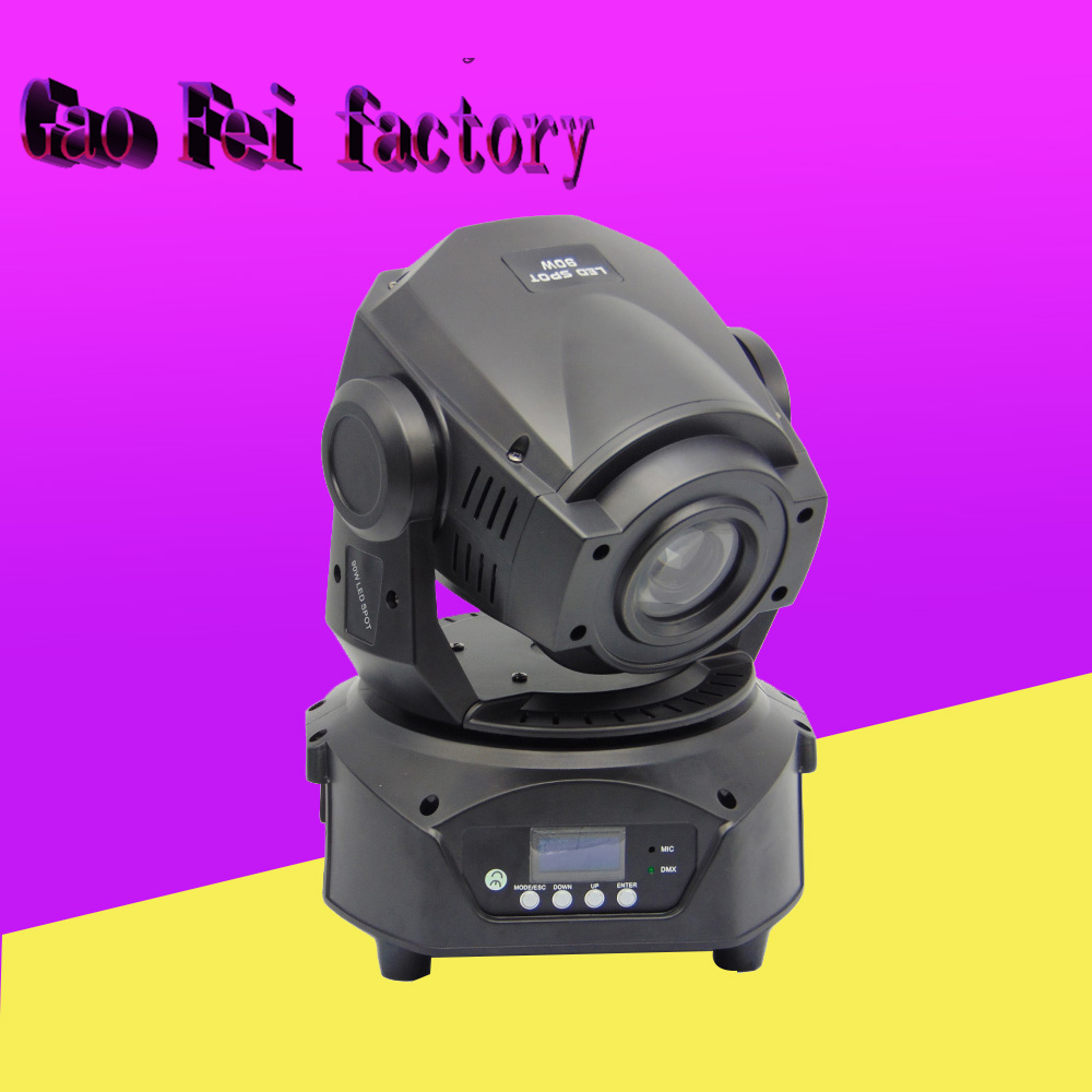 High Brightness LED Zoom Moving Head 90W China DJ Moving Head Spot Gobo Light DMX 16 Channels Stage 3 Face Prism