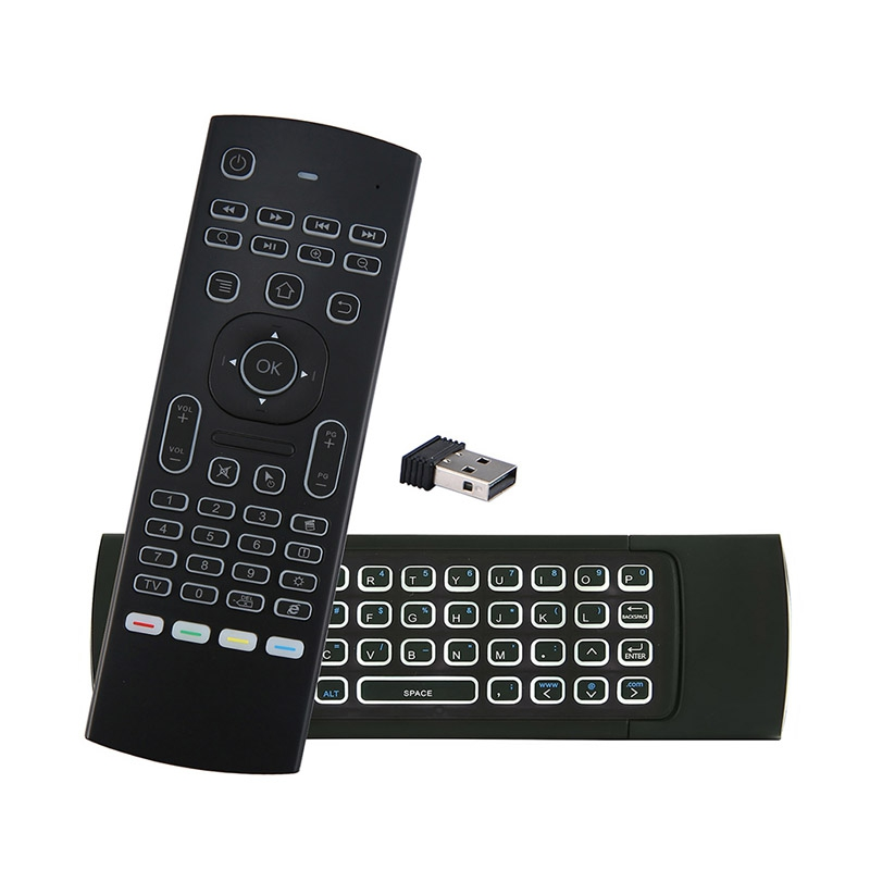 MX3 2.4G Mini Wireless Keyboard Infrared Remote Control for Smart TV Box Android HTPC PC Projectors Air Mouse Controller