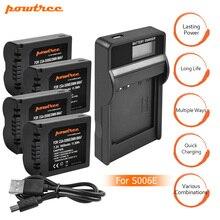 4X CGA-S006 S006 DMW-BMA7 S006A CGR-S006E Battery+LCD USB Charger for Panasonic Lumix DMC-FZ7 FZ8 FZ18 FZ28 FZ30 FZ35 FZ50 L20 стоимость