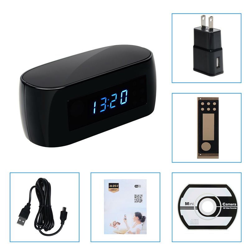 Z16-Wireless-Network-Electronic-Clock-WIFI-Camera-HD-1080P-IP-P2P-Cam-Baby-Monitor-Night-Vision (2)