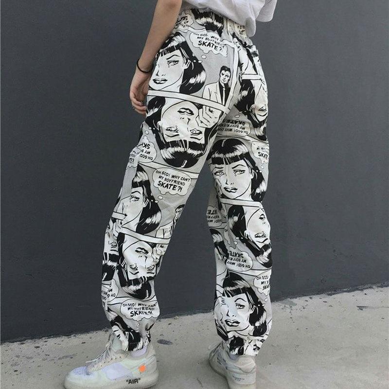 Ultrabrilliant Comprar Pantalones Europeos Y Americanos Calle Hip Hop Movimiento Facil Hombres Mujeres Ocio Online Baratos