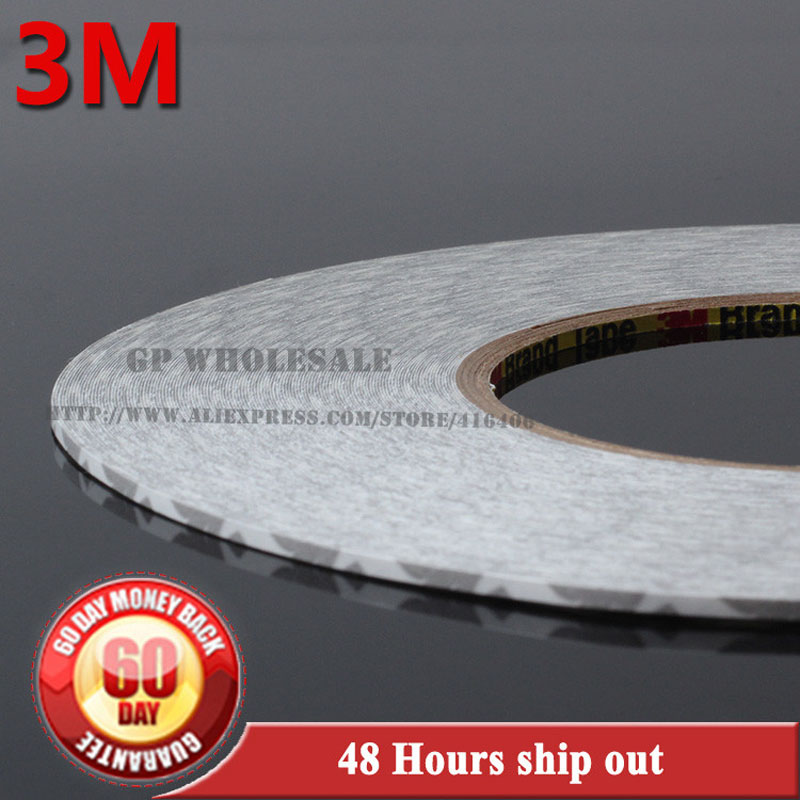50M/roll (2mm~25mm) Original 3M 9080 High Adhesive Tape High Temperature Resist for LED Light Strip Phone LCD Touch Screen Bezel