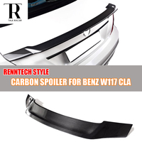 C117 W117 R Style Carbon Fiber Rear Li Wing for Mercedes Ben ClA180 CLA200 CLA250 & CLA45 AMG 2013 2016