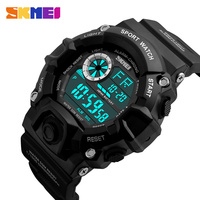 SKMEI Men Shock Sports Watches Man Camouflage Military Watches Male Waterproof LED Digital Wristwatches Relogio Masculino 1019