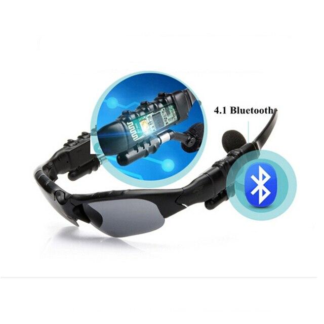 FULLSONG 1 set Brand Polarized Polarised Polarizing Bluetooth Glasses Sports Glasses Sets New Mens Driving cool Sunglasses