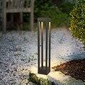 LukLoy светодиодный газон современное минималистическое освещение открытый водонепроницаемый Ландшафтный для внутреннего двора вилла парко...