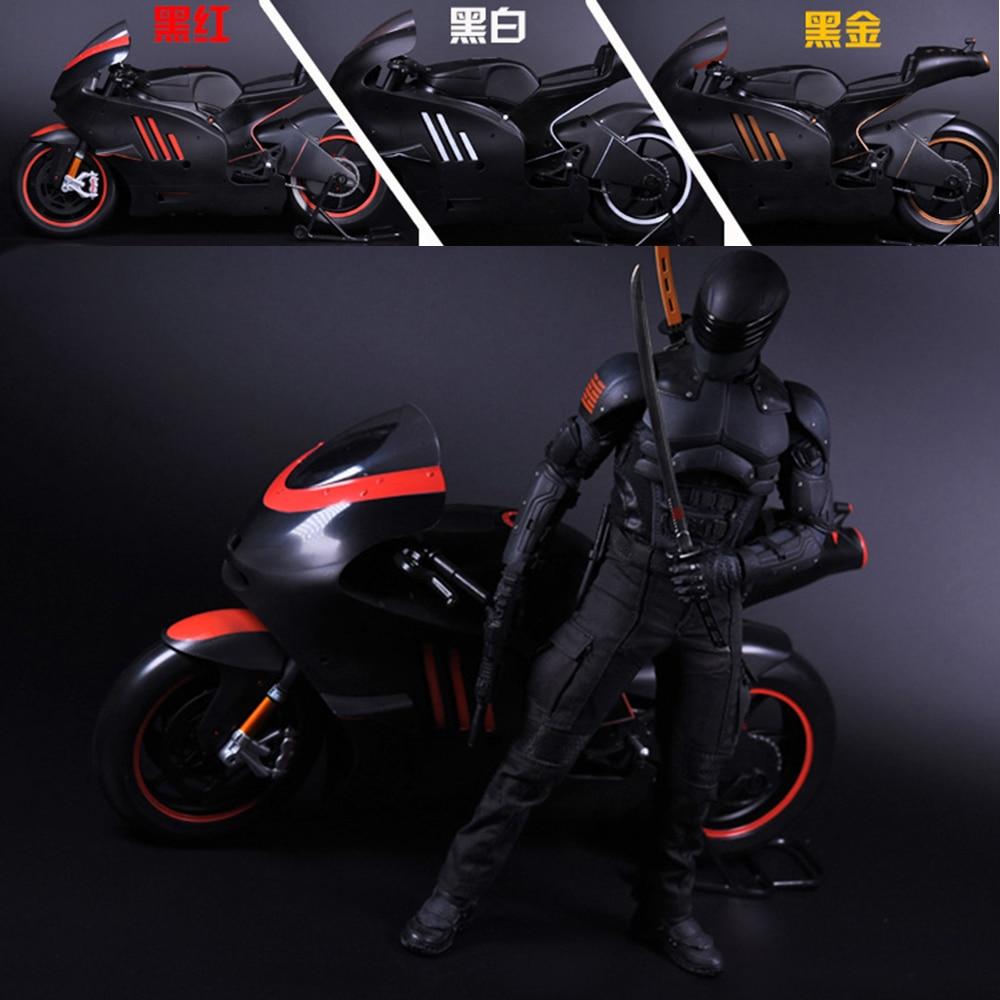 "1//6 scale Motorcycle Biker Helmet RED for 12/"" figure Iron Man Phicen ❶USA❶"