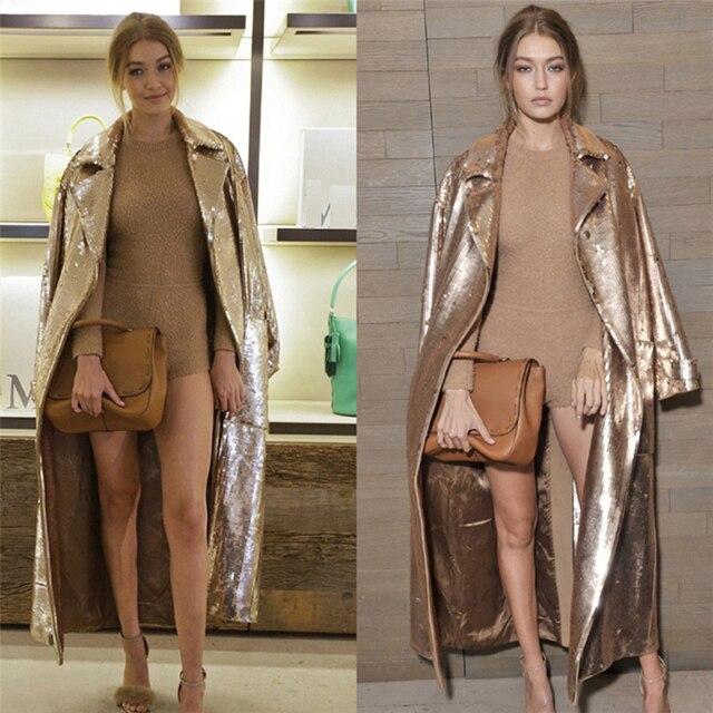 Golden Coat - Sequin - 4 Sizes 2