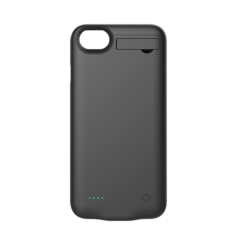 2800mAh External <font><b>Battery</b></font> Charger Case Power Pack Charger Cover for <font><b>iPhone</b></font> 7 <font><b>6</b></font> 6s with Magnetic Kickstand