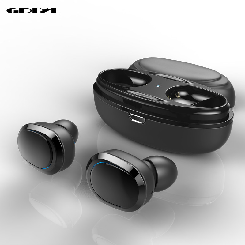 GDLYL T12 TWS Bluetooth Earphone Mini Bluetooth V4.1 Headset Double Wireless Earbuds Cordless Headphones Kulakl k Casque