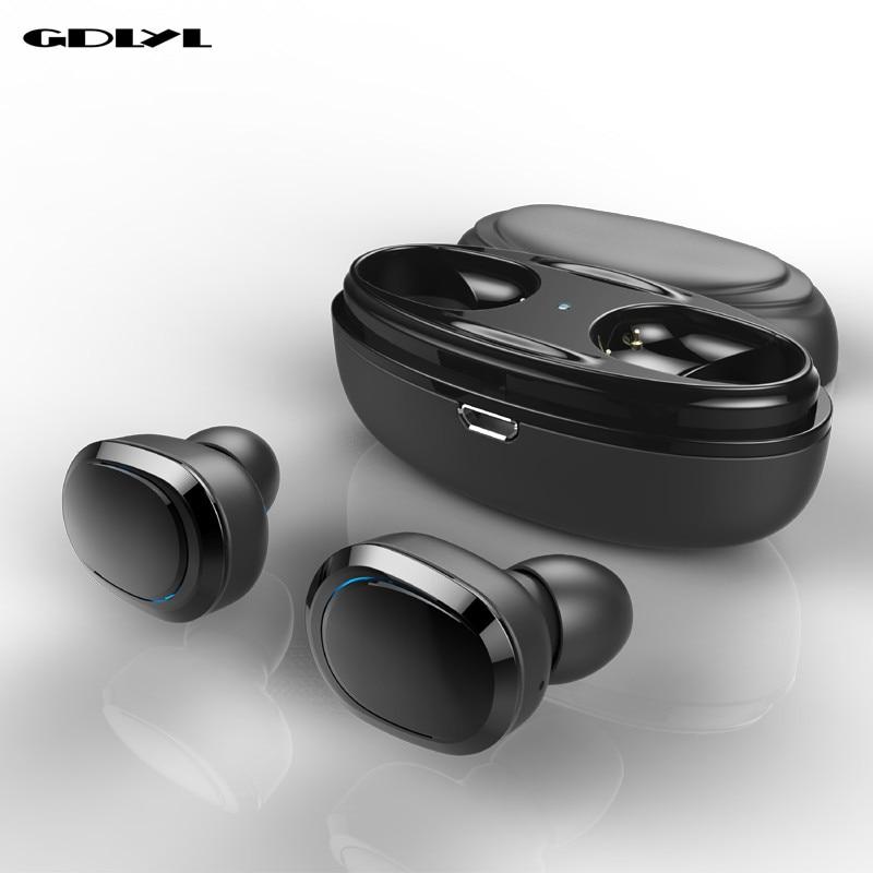 GDLYL T12 TWS Bluetooth Earphone Mini Bluetooth V4.1 Headset Double Wireless Earbuds Cordless Headphones Kulakl k Casque