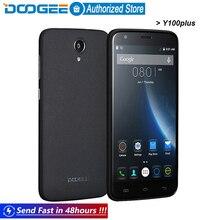 Распродажа Doogee Y100 плюс мобильные телефоны 5.5 Дюйма HD 2 ГБ RAM + 16 ГБ ROM MTK6735 Android5.1 Dual SIM Quad Core GSM WCDMA LTE
