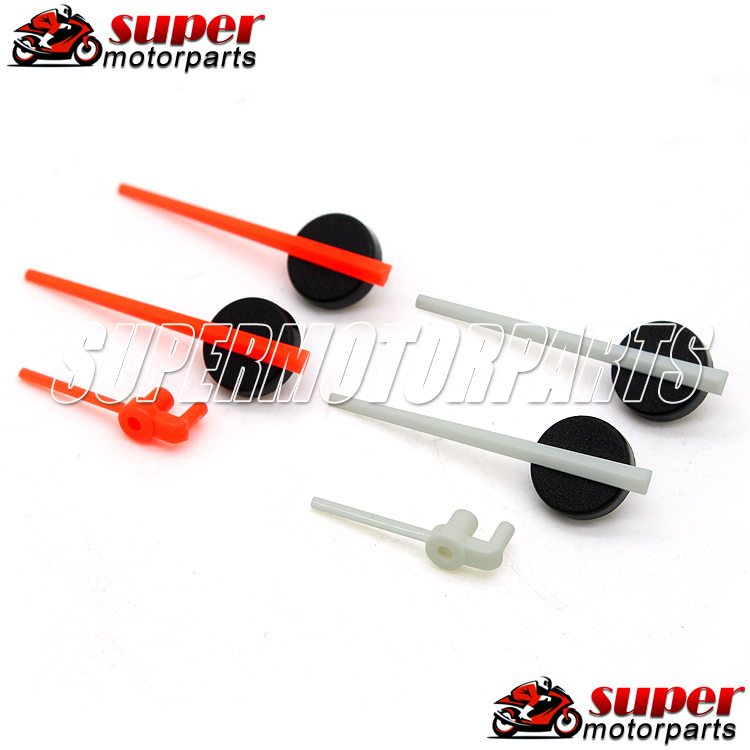 2 Pairs Red and White For HONDA CB400 SF 1992 1993 1994 1995 1996 1997 1998 NC31 Speedometer Pointer Needle