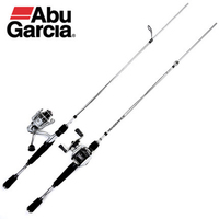 Abu Garcia 102 м Нескользящая сплит колесо литье рыболовная удочка M ML 2 секции жесткая приманка рыболовная удочка ручной полюс Рыболовные снасти