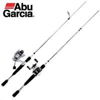 Abu Garcia 102m Non slip split wheel seat Casting Fishing Rod M ML 2 Section Hard Lure Fishing Rod hand pole fishing tackle