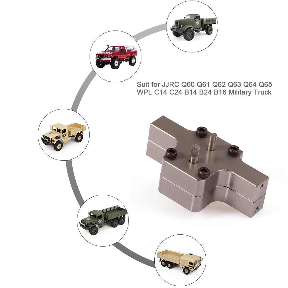 Металлический корпус для JJR/C Q60 Q61 Q62 Q63 Q64 Q65 WPL C14 C24 B14 B24 B16 военный грузовик Радиоуправляемая машина Запчасти