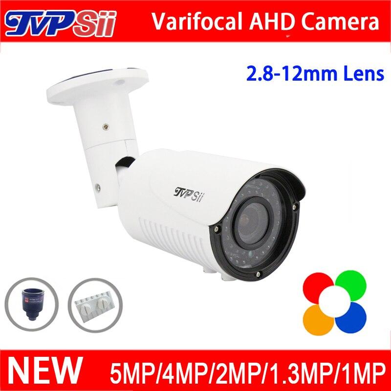 5MP/4MP/1080 P/960 P/720 P 42 шт. Инфракрасные светодиоды 2,8 мм-12 мм вариофокальный объектив Zoom AHD CCTV Камеры Скрытого видеонаблюдения Бесплатная доставка