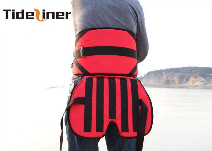Tideliner waist protecting fishing belt fishing jigging rod holder gimbal fishing tools accessoris 75cm*27cm+45cm*34cm